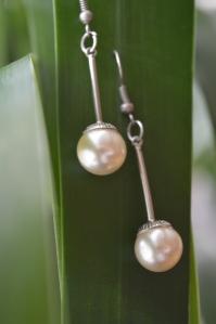 Örhängen äldre pärlor