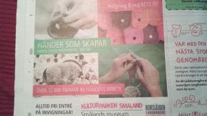 Utställning Händer som skapar