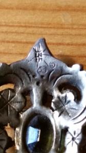 Märkning hänge silver