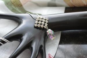 Halsband brosch och hänge