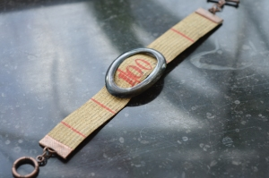 Armband gammalt/antikt måttband