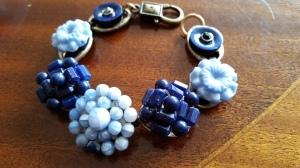 Armband, blått