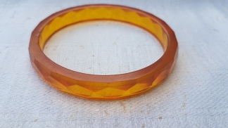 Armband lucite, 50/60-tal