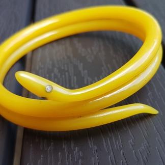 Orm-armband i celluloid, 30-tal